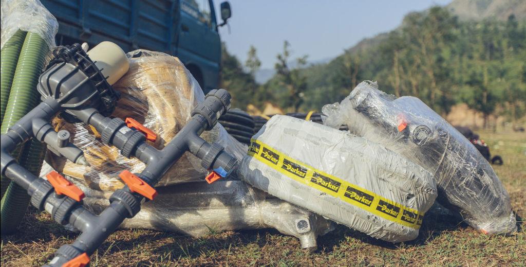 Water treatment equipment | Nepal Earthquake
