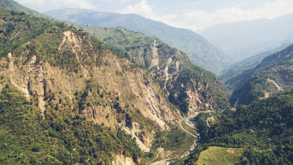 Gurkha District Mountains | Nepal Earthquake