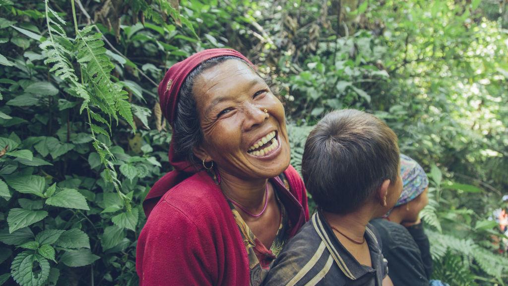 Pokhari woman and her son | Nepal Earthquake
