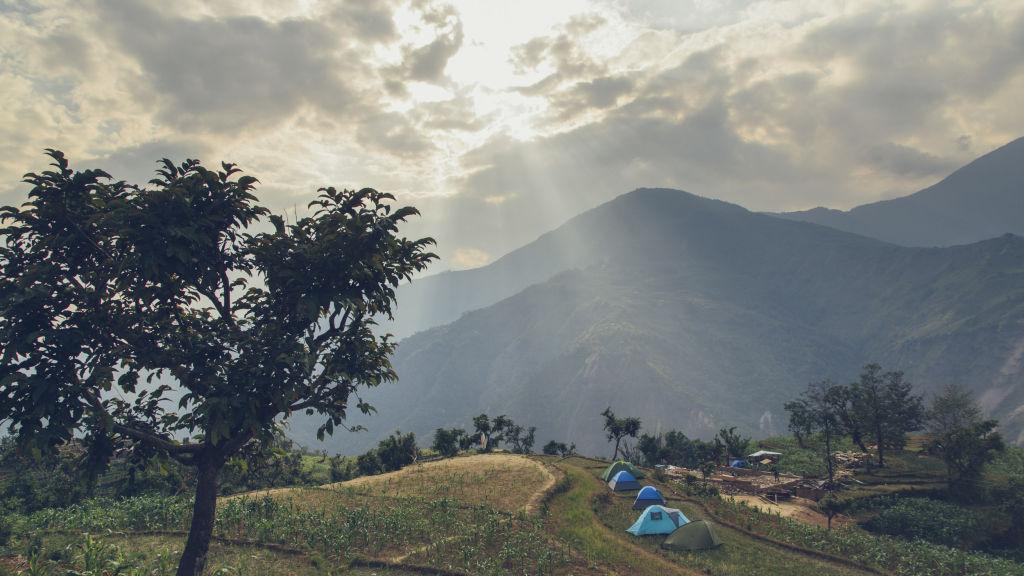 Campsite in Pokhari | Nepal Earthquake