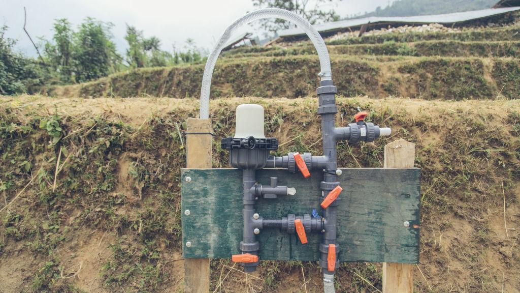 Chlorinator set up | Nepal Earthquake