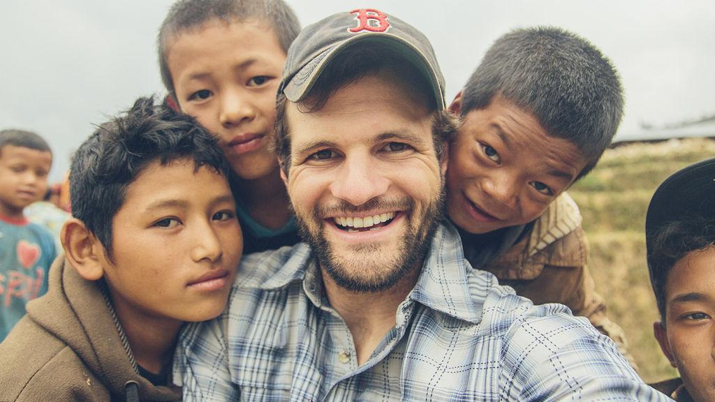 Bobby Neptune and children of Pokhari | Nepal Earthquake