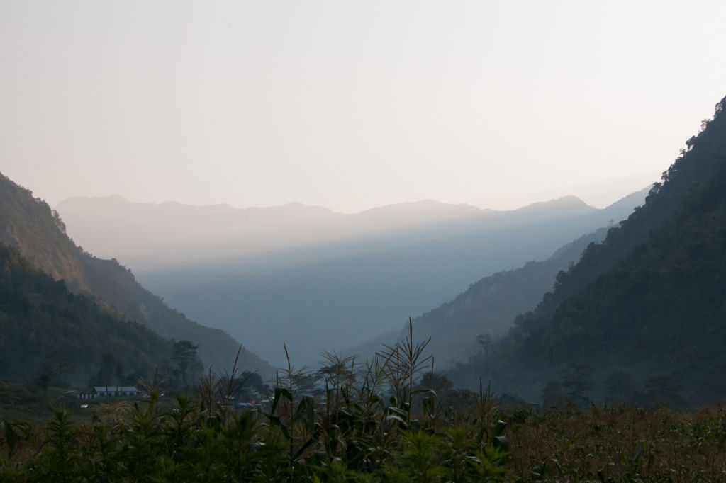 View from Keura, Nepal   Nepal Earthquake
