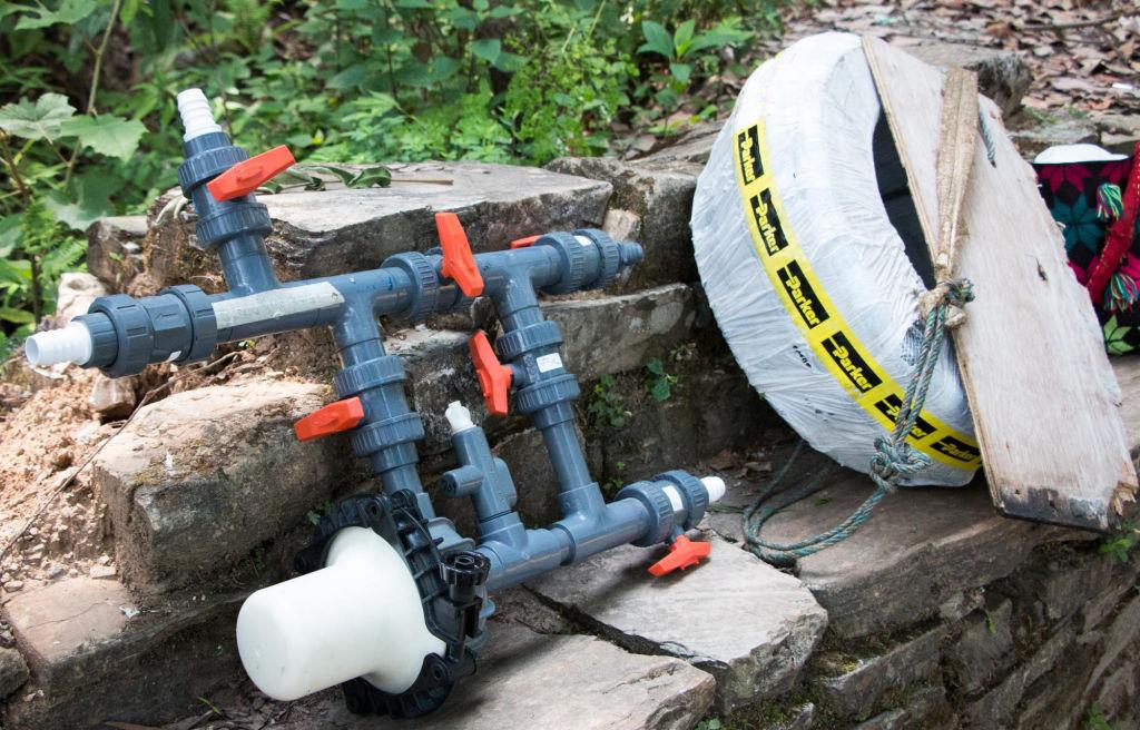 Chlorinator and equipment for Keura community   Nepal Earthquake