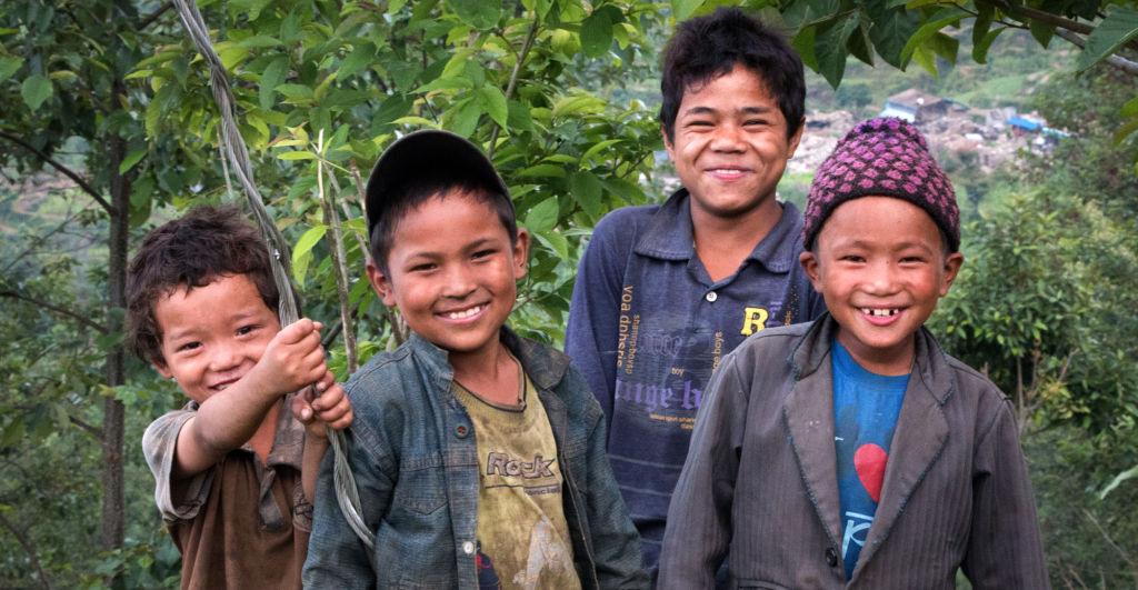 Children of Keura   Nepal Earthquake