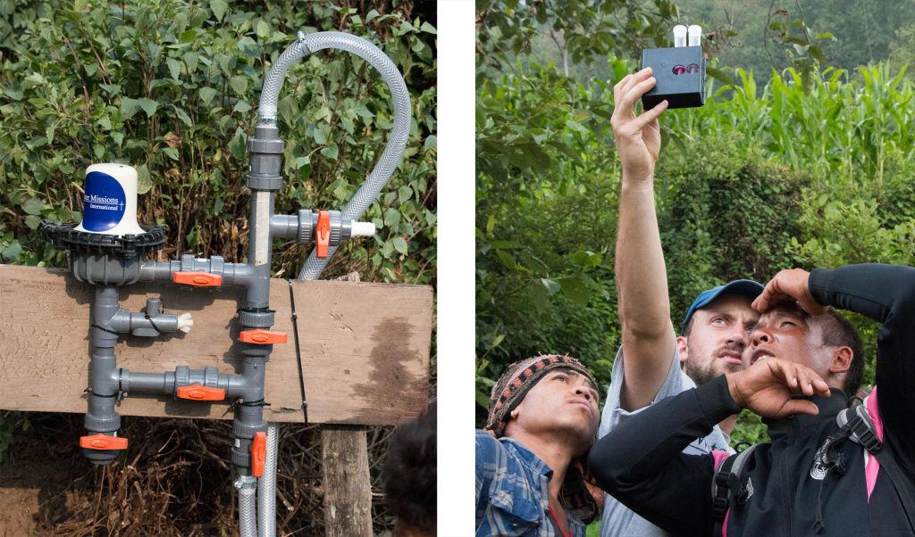 Chlorinator and chlorine testing   Nepal Earthquake