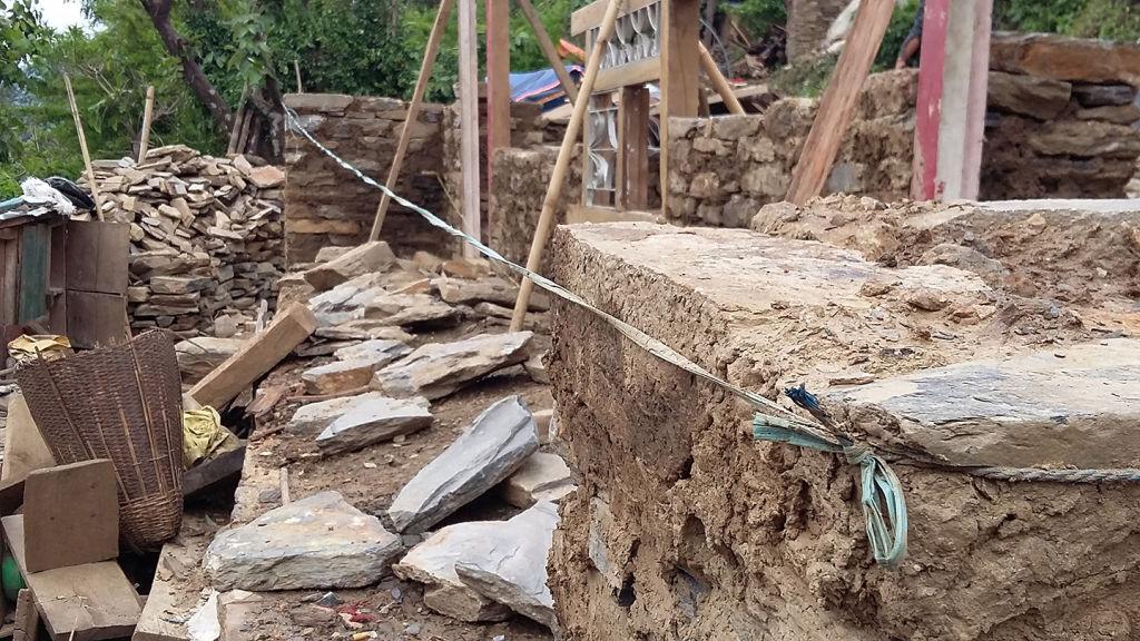 Keira rebuilding   Nepal Earthquake
