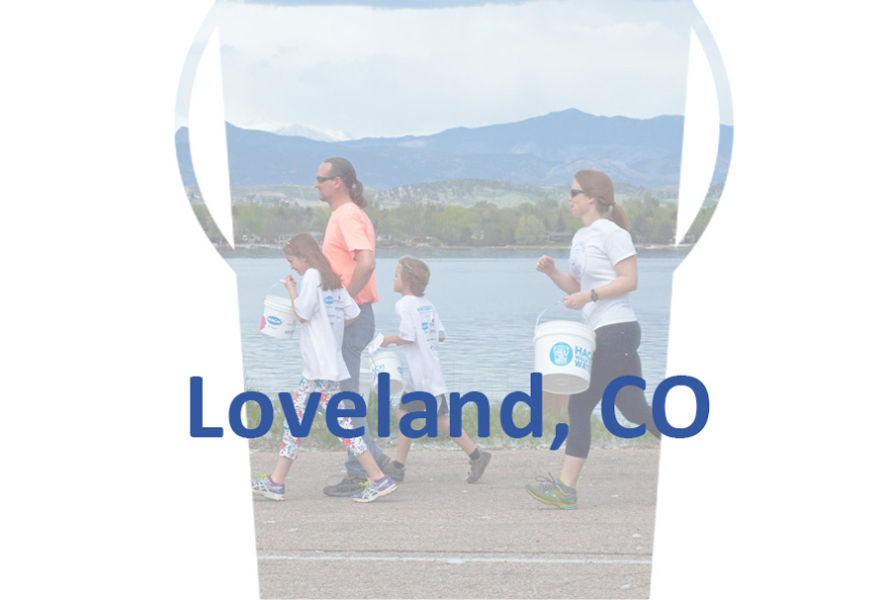Loveland, CO, Walk for Water