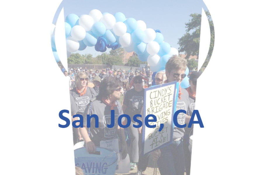San Jose, CA, Walk for Water