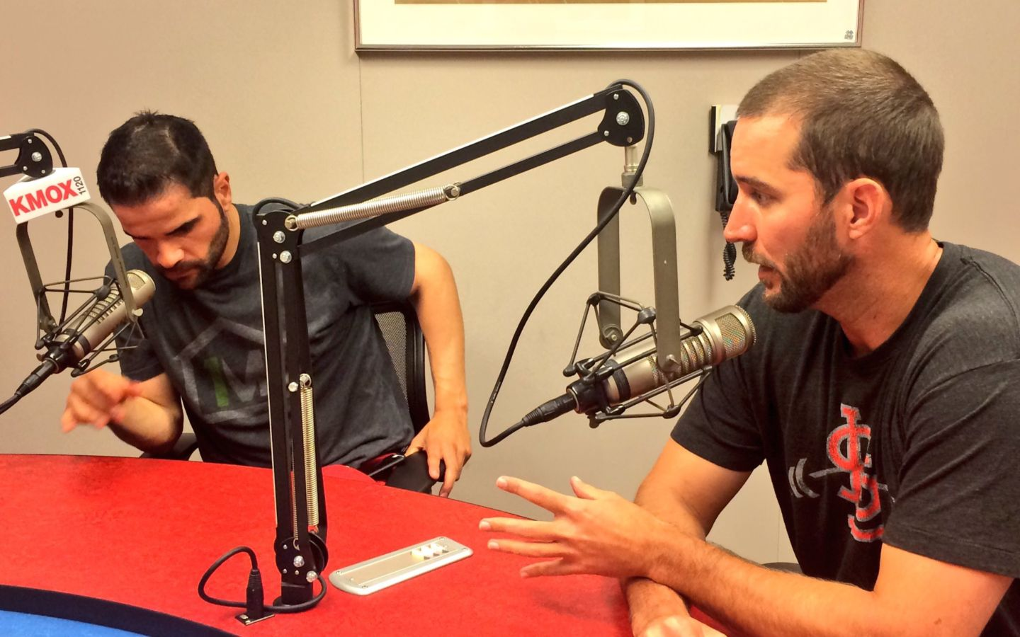 Adam Wainwright & Jaime Garcia, St. Louis Cardinals, Interview with Kyle McClellan