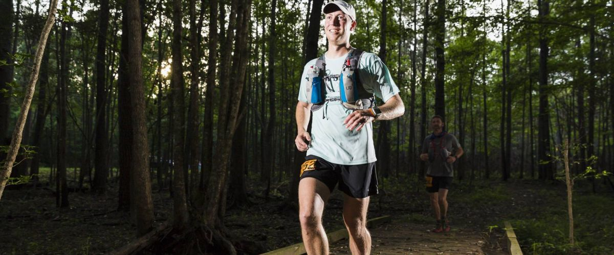 "Nathan Dewey runs 140.6 mile ""El Diablo"" ultra-marathon to fundraise for Water Mission."