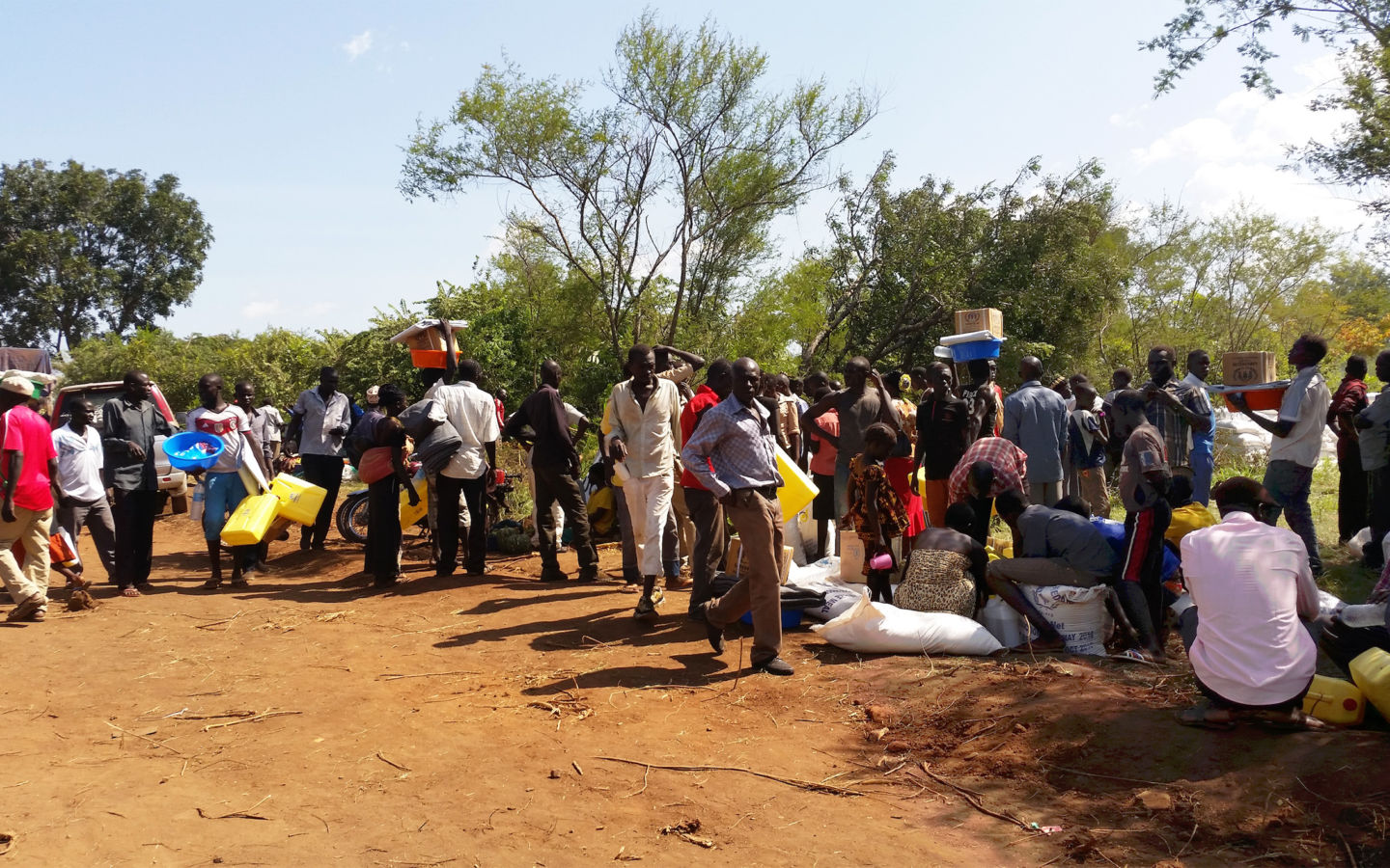 South Sudan refugees in Uganda | Water Mission