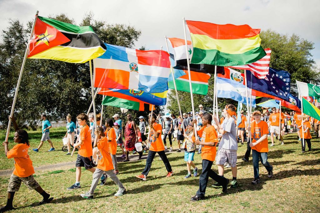 Water Mission's Charleston Walk for Water raises awareness of the global water crisis.