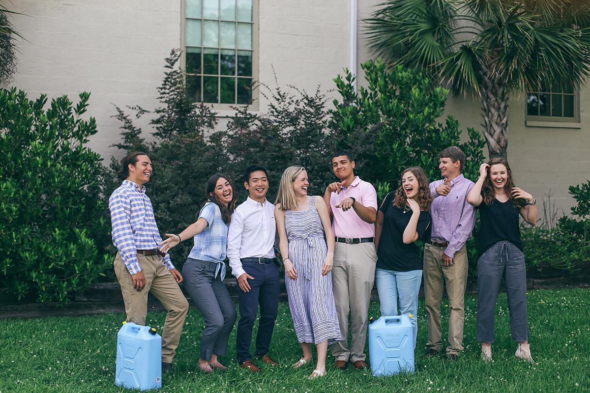 Our amazing 2018 summer interns!