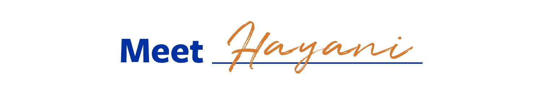 Meet Hayani