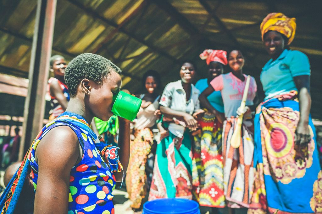 Safe water in Malawi's displacement camps