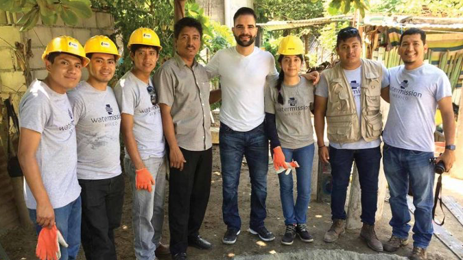 Jaime Garcia brings safe water to Mexico